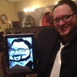 Traditional and iPad Caricatures