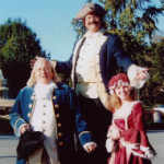 Paul Revere, Ben Franklin & Betsy Ross Stiltman