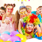 kids party clown fun