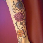 Asian-Tattoo-Design-on-Leg-for-2011-520x693