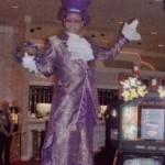 Wayne B Casino Purple Stilts
