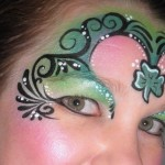 st patty's day face painting
