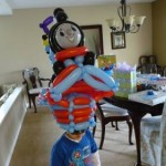 thomas the train balloon hat