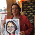 Edwards Events and Entertainment caricatures!